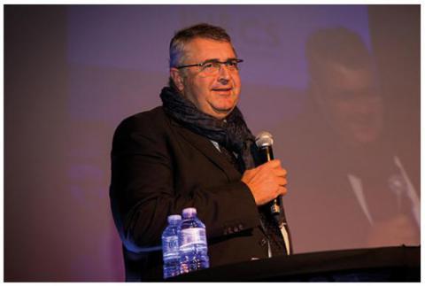 Jean-François Raskin - Administrateur général de l'IHECS à la Cérémonie des diplômés IHECS 2017
