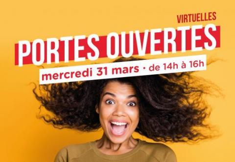 Portes ouvertes virtuelles 31 mars