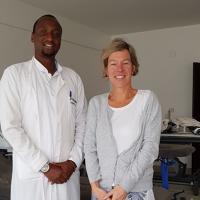 Mme Raveschot en mission à Kigali