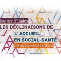 Journée d'études sur l'accueil en social-santé